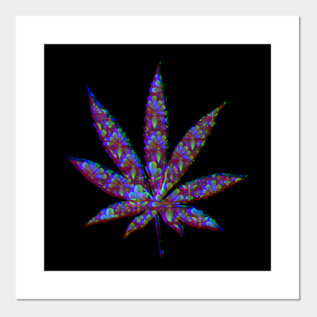 Cool Wallpaper Psychedelic Unique Weed Design Weed Affiche Et