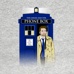 The Angel Has The Phone Box t-shirts