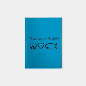 Led Zeppelin Notebooks | TeePublic