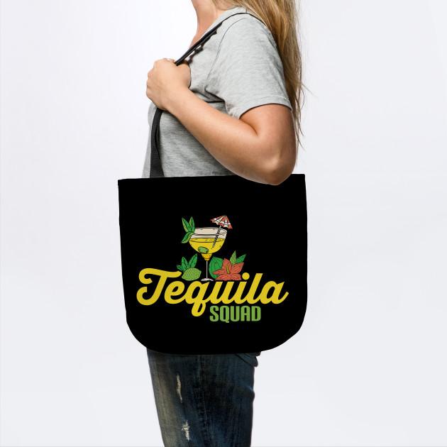 Cute Tequila Squad Margarita Drinking Alcohol Pun