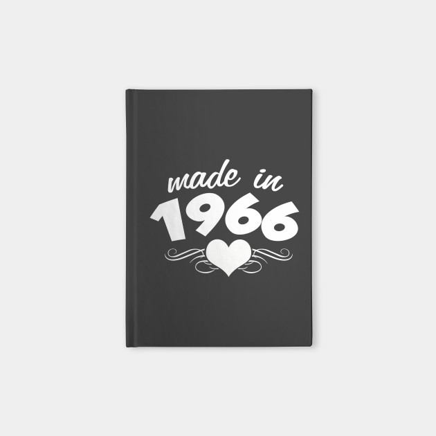 50th Birthday Gifts For Women Made In 1966 Heart Design 50 Shirt