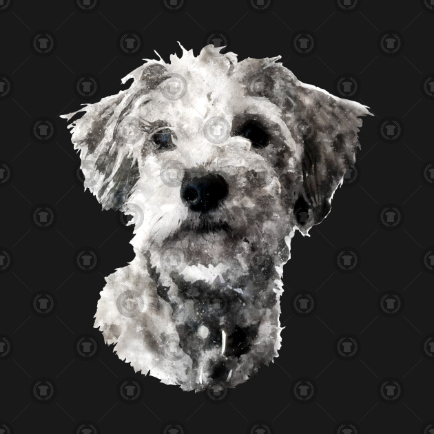 Watercolour Shih Tzu Maltese Puppy Dog Dog T Shirt Teepublic