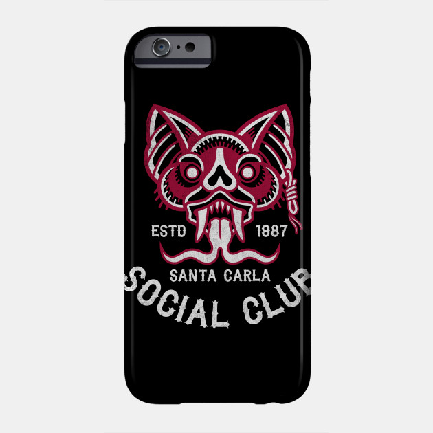 Santa Carla Social Club - Lost Boys Vampires Phone Case