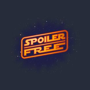 SPOILER FREE t-shirts