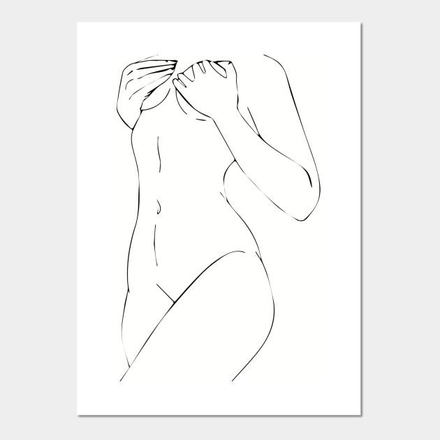 Body Art Women Posters And Art Prints Teepublic
