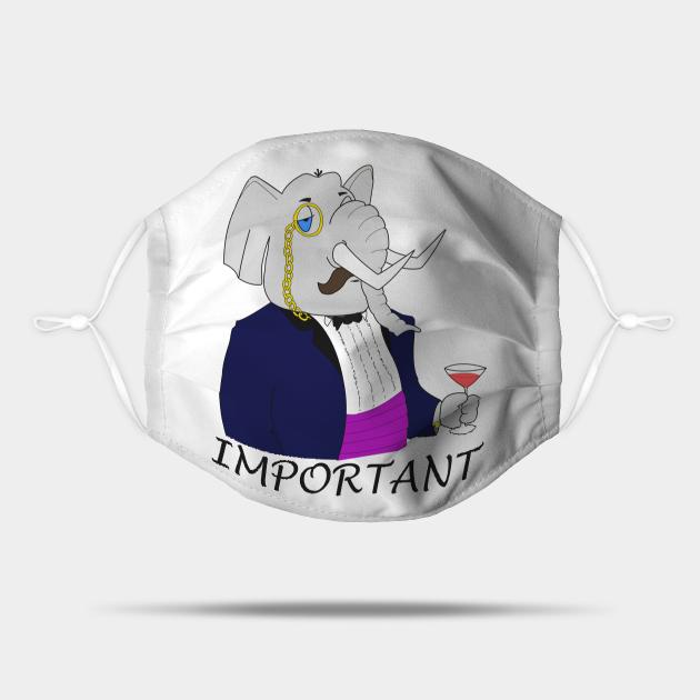 Important Elephant - Funny Design