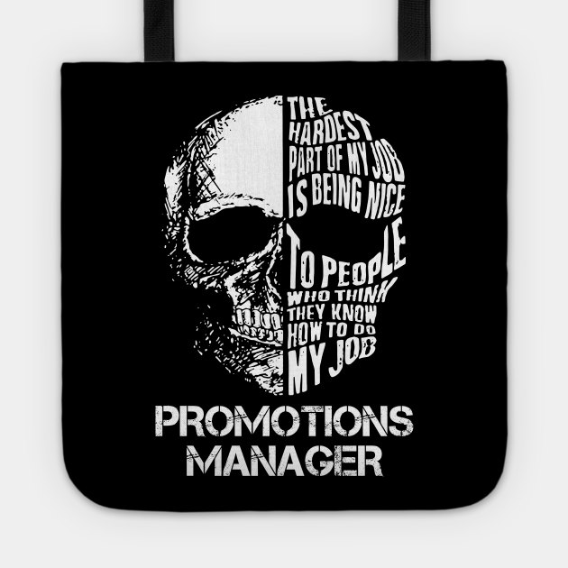Promotions Manager T Shirt - The Hardest Part Gift Item Tee