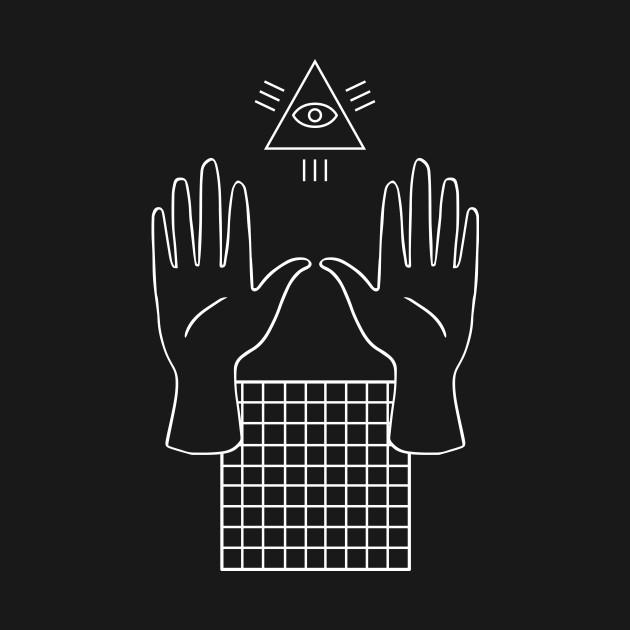 Occult Illuminati Aesthetic Vaporwave