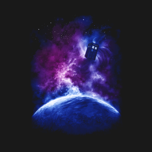 Space and Time t-shirts