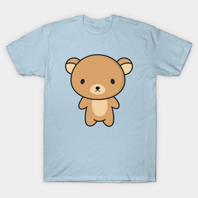 Cute and Kawaii Brown Bear - Cute Bear