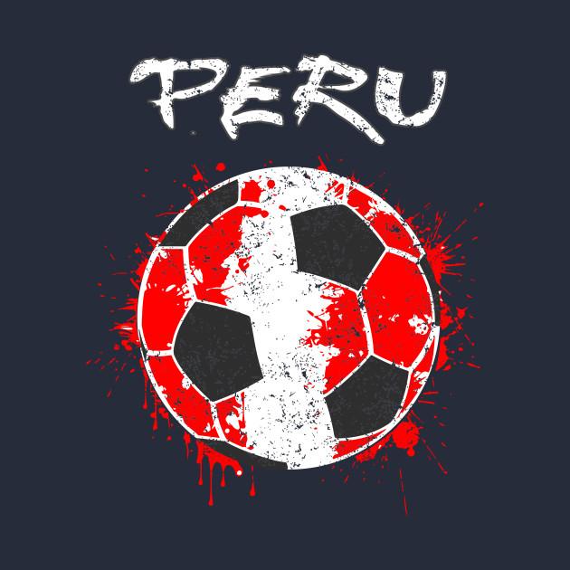 c7625b32ea9 Peru Football Soccer Shirt Jersey Football Team Fan - Peru Football ...