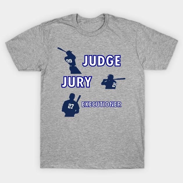 sale retailer abb5e 376df Judge, Jury, and Executioner Yankees
