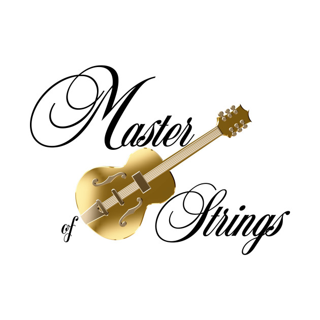 Bas Guitar String Diagram