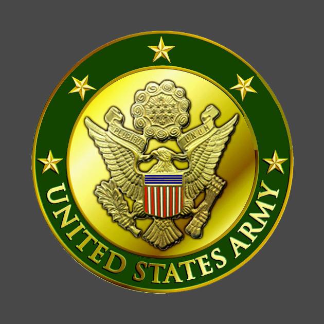 0abcd198dfff5 U S Army Seal - U S Army Crest - T-Shirt