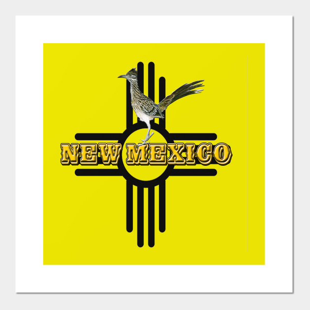 New Mexico Roadrunner Zia Symbol New Mexico Posters And Art