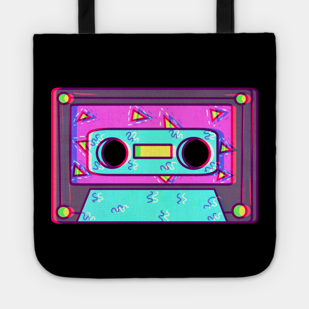 Vaporwave 80s Retro Cassette Tape Aesthetic Shirt