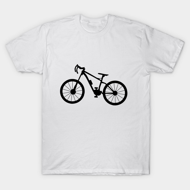 bicycle silhouette T-Shirt