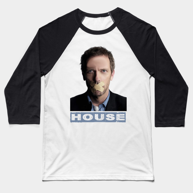 Dr House Tv Show USA New Tshirt Short Sleeve Baseball T-Shirt