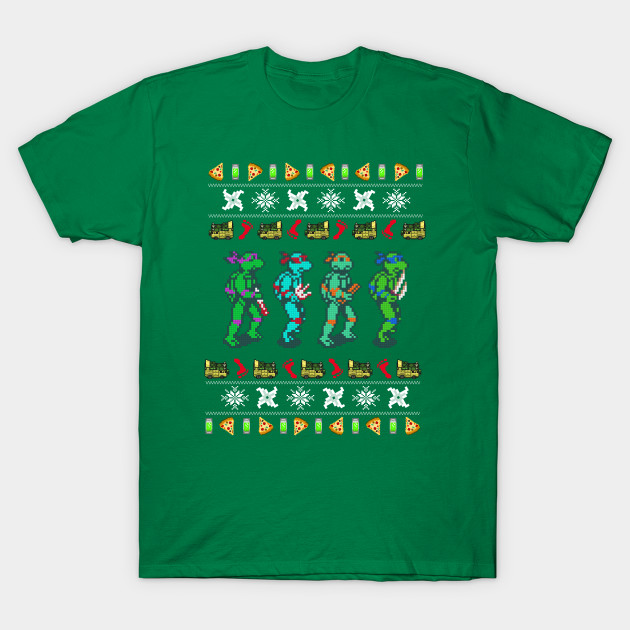 A Turtle Christmas T-Shirt