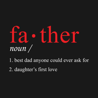 Define Father t-shirts