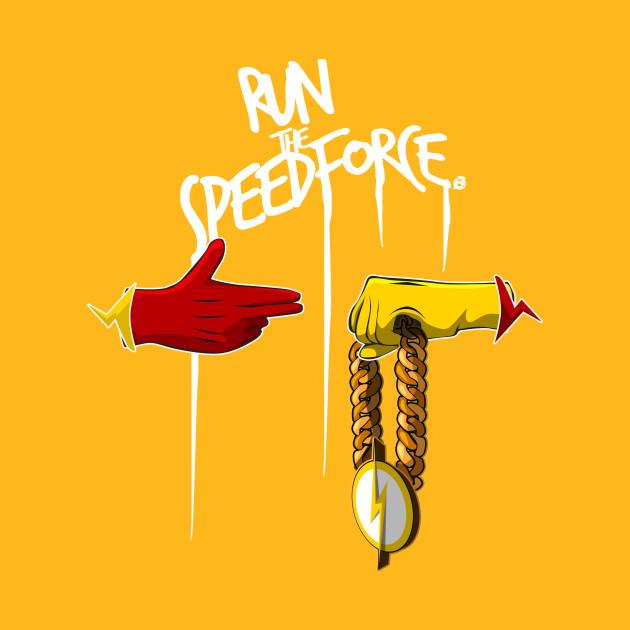 Run the speedforce bosslogic t shirt teepublic
