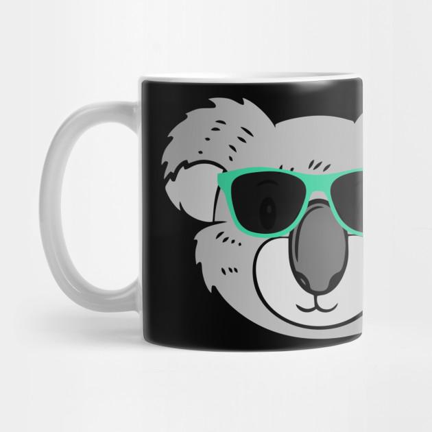 c8278eeff48 Cute Koala Wearing Sunglasses - Koala - Mug