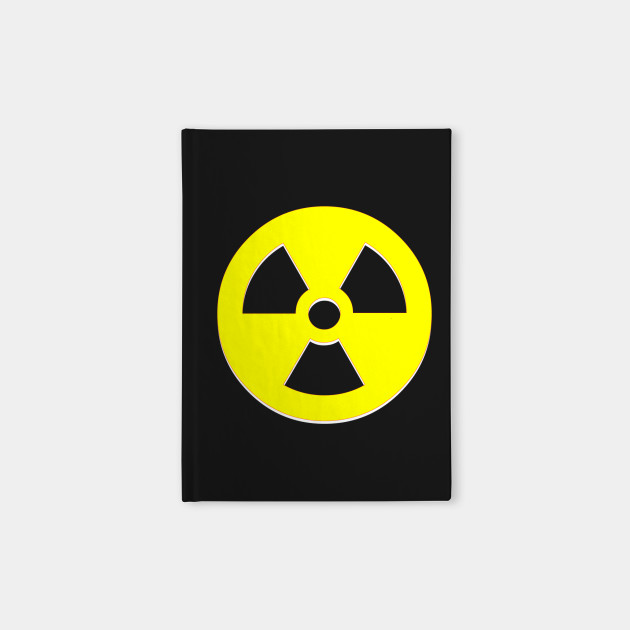 Nuclear Bomb Symbol Nuclear Warning Sign Notebook Teepublic