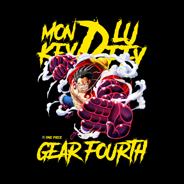 Monkey D Luffy Gear 4