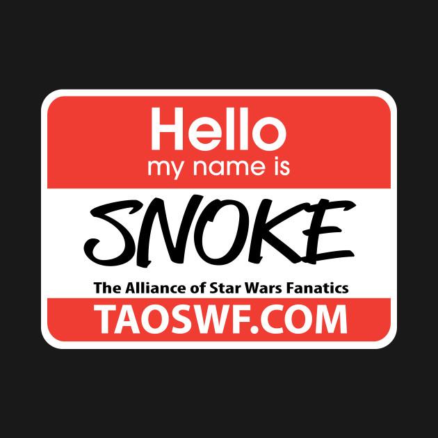 Hello My Name Is Snoke