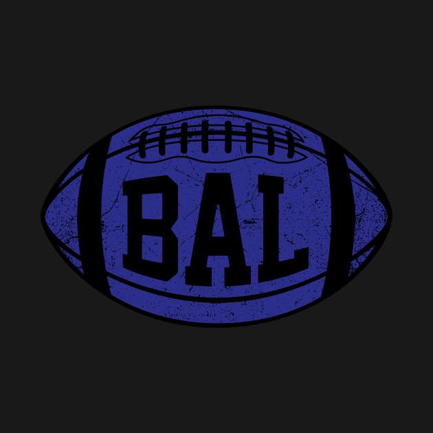 BAL Retro Football - Black