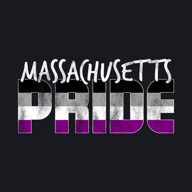 Massachusetts Pride Asexual Flag