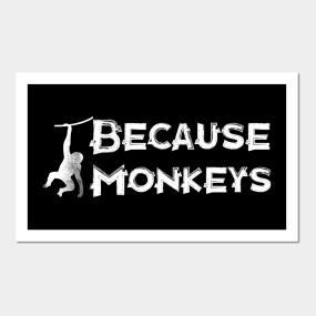 Monkeys Posters and Art Prints | TeePublic