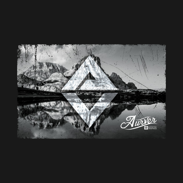 Aurver Mountain Reflection