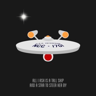 All I ask is a tall ship | Star Trek t-shirts