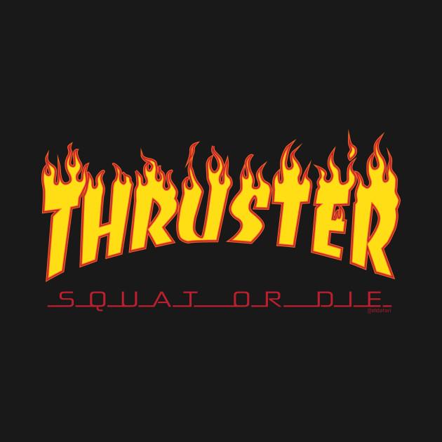 Flaming Thruster