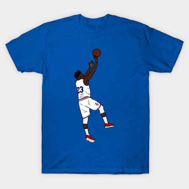 f5a0eaefa Jimmy Butler Jumpshot - Philadelphia 76ers - Nba - T-Shirt