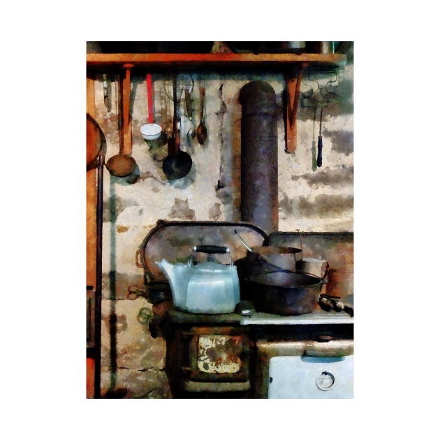 Cooks - Stove With Tea Kettle