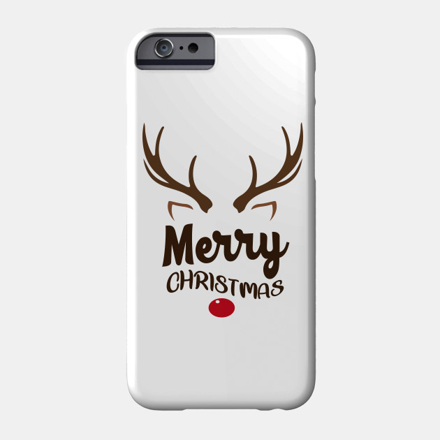 Merry Christmas Shirt, Christmas Shirts for Women, Merry Christmas Shirt, Happy Holiday Tee, Ladies Cute Christmas Shirt, Rustic Christmas, Christmas TShirt, Family Christmas Tee Phone Case