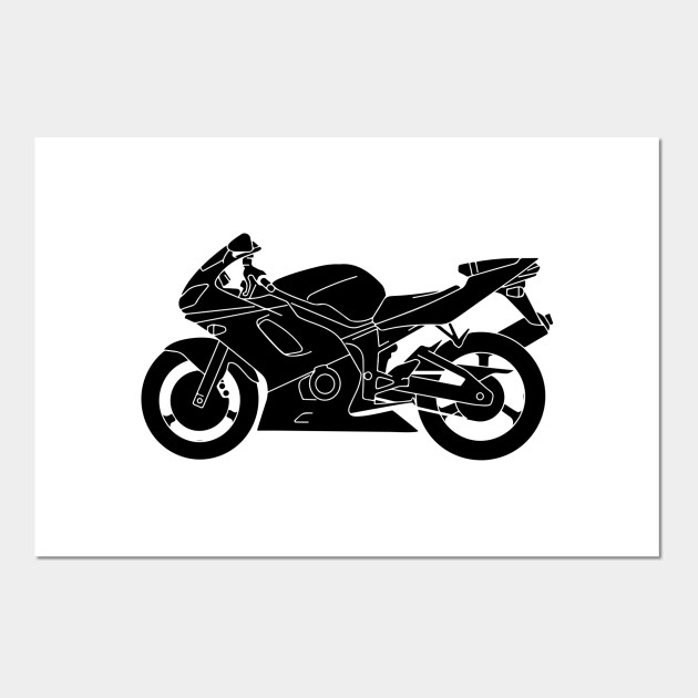 Limited Edition Exclusive Motorcycle Silhouette Vector Motorcycle