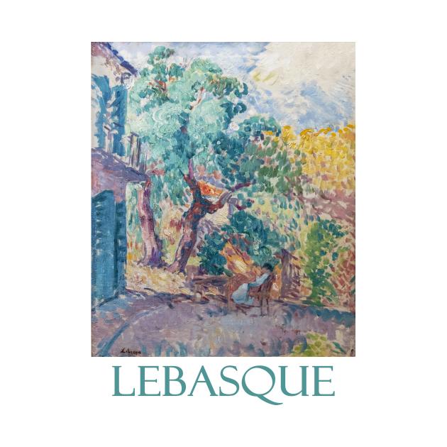 Le Jardin by Henri Lebasque