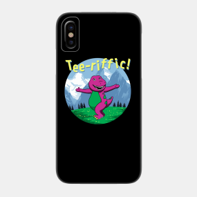new style a987d daa78 Barney Phone Cases - iPhone and Android | TeePublic