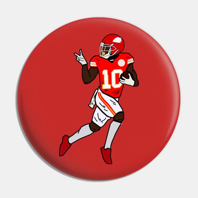 Tyreek Hill Funny Touchdown Turn Around Stare Celebration - Kansas City Chiefs