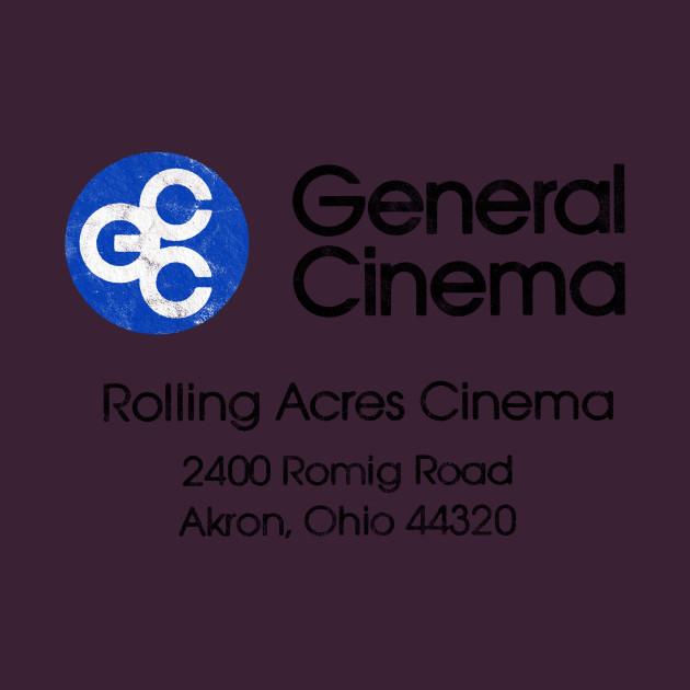 Rolling Acres Cinema - Rolling Acres Cinema Mall Romig Road Akron Ohio -  T-Shirt | TeePublic
