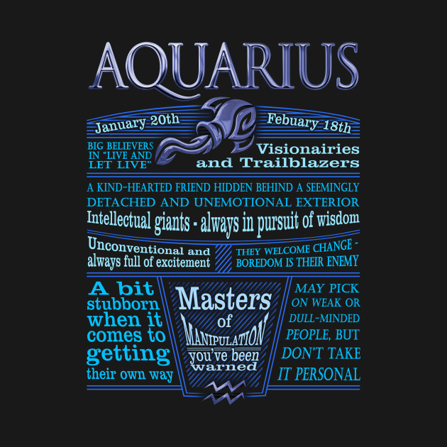 aquarius zodiac sign astrology blue aquarius zodiac sign t shirt