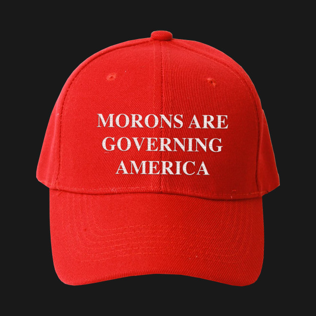 Morons Are Governing America