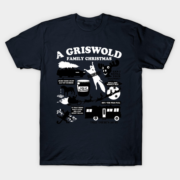 A Griswold Family Christmas T-Shirt - Movie - T-Shirt | TeePublic