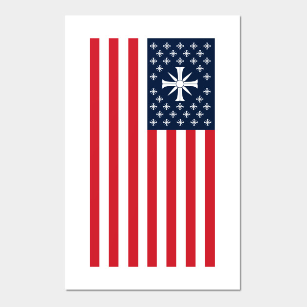 Far Cry 5 Usa Cult Flag Far Cry 5 Poster Und Kunst Teepublic De