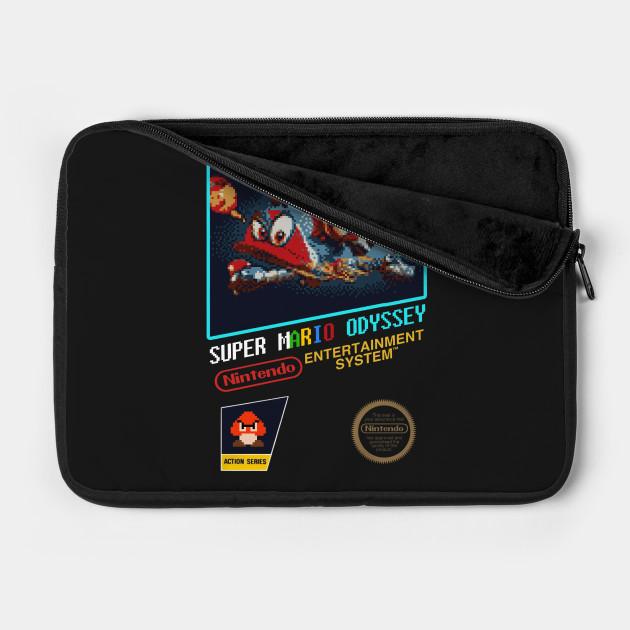 Nintendo Switch Super Mario Odyssey Nes Design By Mzethner