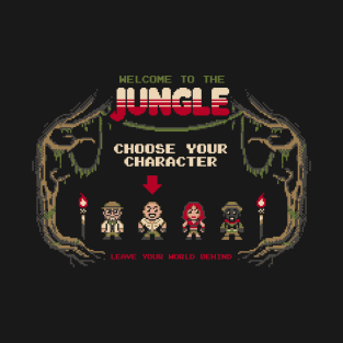 Welcome to the jungle t-shirts