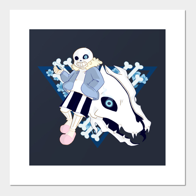 undertale sans gaster blaster undertale posters and art prints teepublic undertale sans gaster blaster